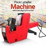 Hongsheng MX-5500 Price Labeler Printing Rate Printer Label Gun 8 Digits