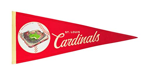 (St Louis Cardinals Vintage Ballpark Traditions Pennant (Large 13x32))