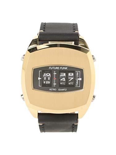BEAMS (빔스) 손목시계 FUTURE FUNK / FF101 ANA-DEGI 시계 (옐로우 골드) 남성 GOLD ONE SIZE