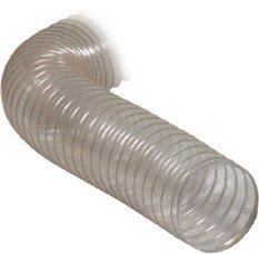 Tube de aspiration transparent - diamè tre: 100mm - largeur 2, 5m - accessoires pour des plantes aspiration holz-metall