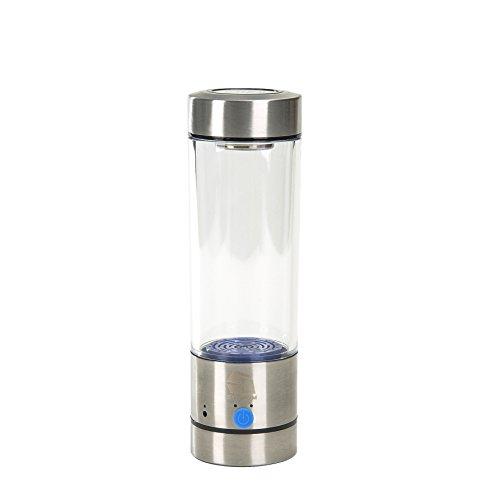 Synteam 400ml Portable Stainless Hydrogen-Rich Water Ionizer