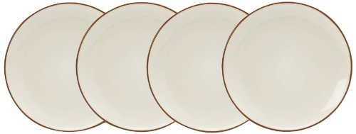 Noritake Colorwave Appetizer Plates, 6-1/4-Inch, Terra Cotta, Set of 4 ()