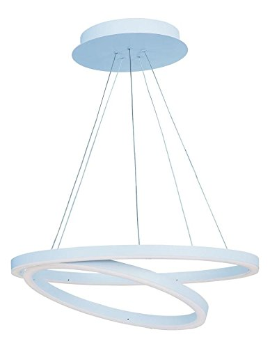 Pendant Cirque Collection (Matte White 23.75In. Wide Led Pendant From The Cirque Collection)