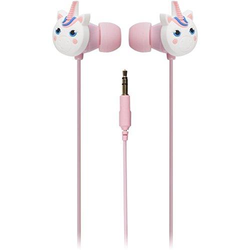 ... auriculares para usar en la oreja compatibles con teléfonos móviles, smartphones, portátiles, tabletas y dispositivos MP3, fútbol Unicorn: Amazon.es: ...