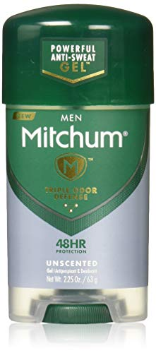 (Pack of 4) Mitchum Power Gel Anti-Perspirant Deodorant Unscented 2.25 ozPackaging may ()