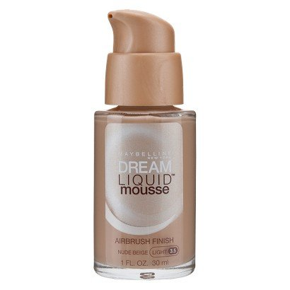 Maybelline® Dream LiquidTM Mousse Foundation for Skin perfecting Smooth poreless finish with natural luminosity (Color : nude beige)