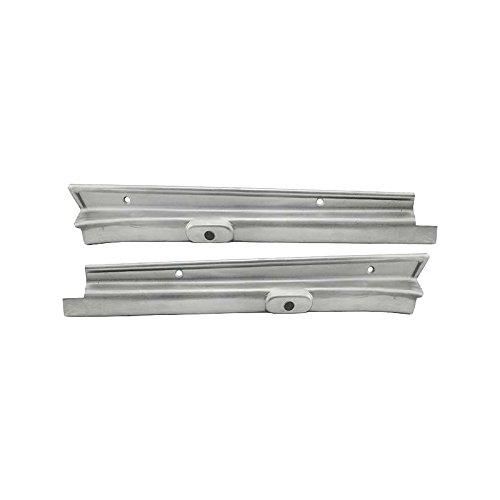 - MACs Auto Parts 28-23200 Model A Windshield Vertical Garnish Mouldings - Steel - Coupe & Tudor