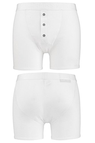 Levante Men's 1 Pack Levis Levi Straus Heritage Original Long Boxer Shorts In White Extra Large White ()
