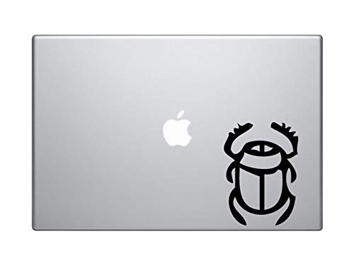 BYRON HOYLE Egyptian Symbols #1- Scarab Beetle Hieroglyph Decorative Art - Mac Apple Laptop iPad ()