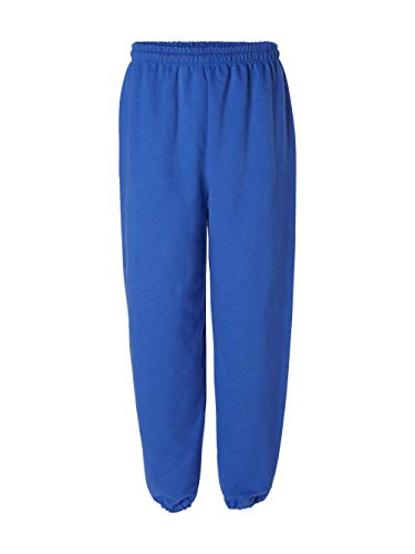 Gildan 18200 Heavy Blend Sweatpants, Royal, Medium