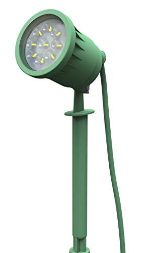 (Stanley 31813 DR1577 LED GROUND SPIKE LIGHT, Green )