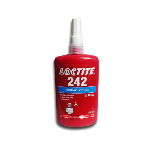 Loctite 242 Medium Strength Threadlocker 250 ml Bottle Henkel 42550
