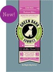 Green Bark Gummies Health & Vitality for Dogs Medium Bites, 240g