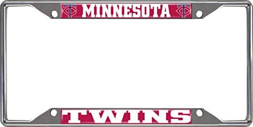 FANMATS MLB - Minnesota Twins License Plate Frame