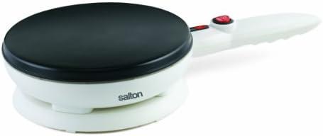 Salton CM1337 Crepe Maker, White