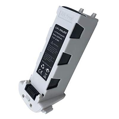 FINEjuyudd 11.4V 3200mAh Battery for Hubsan H117S Zino, Hubsan Zino PRO GPS RC Drone: Toys & Games
