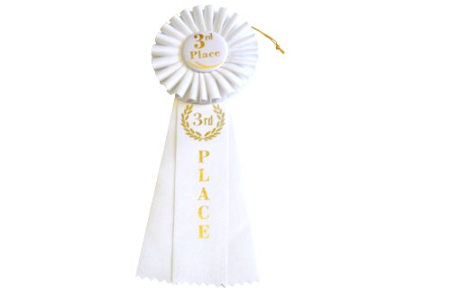 Hayes Specialties Corp. 3rd Place Rosette Ribbon