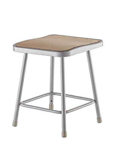 National Public Seating 6318 Steel Stool with 18