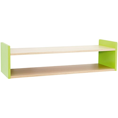 Nathan Clorofile Wall-Mounted Shelf, Green