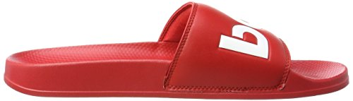 Reebok Herren Classic Slide Dusch-& Badeschuhe Rot (Scarlet/white)