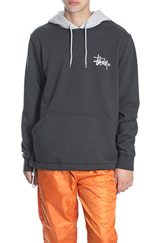 grey Hoodie Black Tone Two Stussy pIqPH