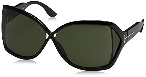 Tom Ford 01N Black Julianne Butterfly - Sunglasses Ford Black Tom
