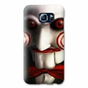 Case Carcasa Samsung Galaxy S7 Edge Horreur - - Saw blanc -