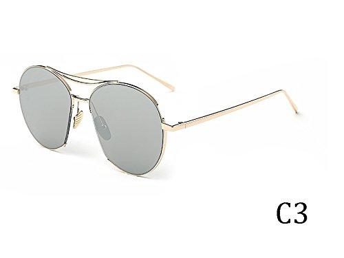 En De Metal De Vintage Uv400 Espejo TIANLIANG04 Mujeres 935C3 Bastidor Gafas Gafas Sol Tonos Grande 935C5 qwAxt0