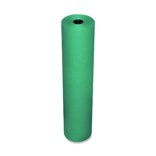 pacon-rainbow-lightweight-duo-finish-kraft-paper-roll-3-feet-by-1000-feet-brite-green-63130