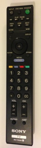 Original Sony RM-YD065 LCD TV Remote Control for KDL-22BX...