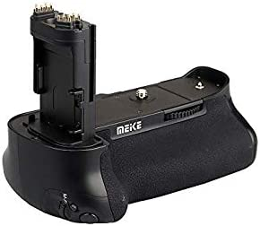 Meike MK-7DRII PRO MK-7DII Pro Vertical Power Battery Grip Holder with Remote Control Commander for Canon EOS 7D2 7D Mark II DSLR Cameras as BG-E16