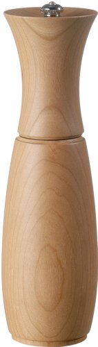 Cherry Wood Pepper Mill - Fletchers' Mill Border Grill Pepper Mill, Cherry - 8 Inch, Adjustable Coarseness Fine to Coarse, MADE IN U.S.A.