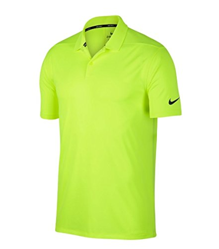 d4aa48a7 Galleon - Nike Men's Dry Victory Solid Golf Polo (Volt/Black, XX-Large)