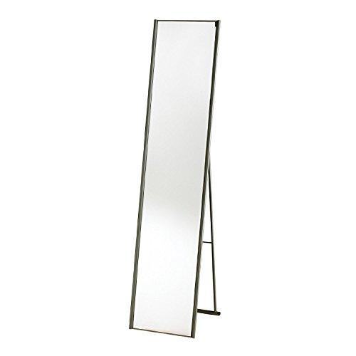 Adesso WK2444-22 Alice Floor Mirror, Steel