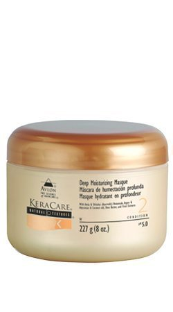 Avlon KeraCare Natural Textures Deep Moisturising Masque 8oz by KeraCare