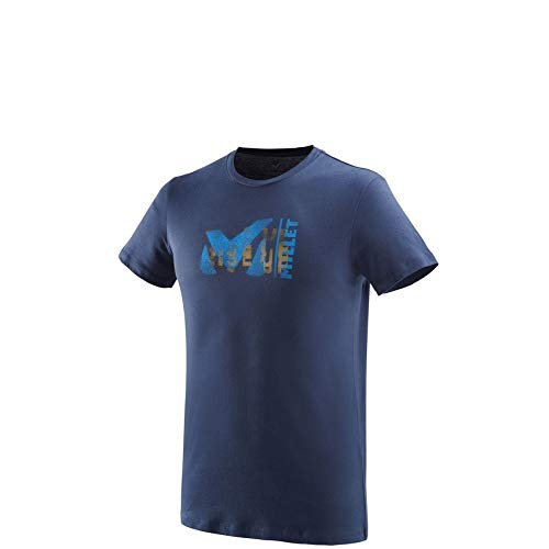 Hombre Millet Paint TS SS Camiseta