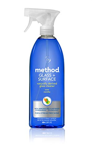 Method Glass Cleaner + Surface Cleaner, Blue, 28 Ounce