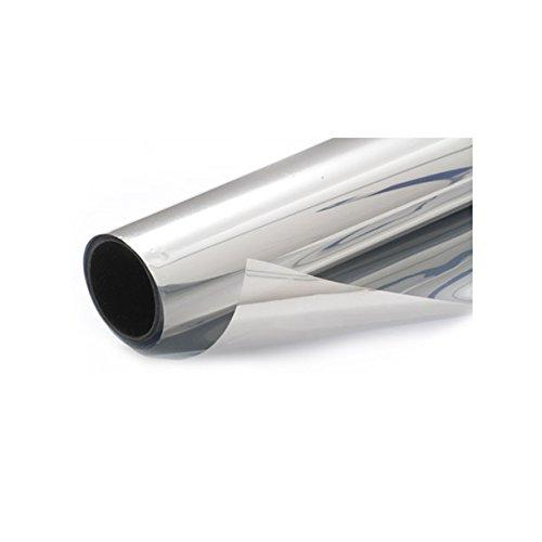 100/x 75,9/cm Diversitywrap Argento Solare Riflettente Semi Specchio Finestra Film 35/% Privacy Adesivo Vetro Tinta 76/cm 1/M X76/CM