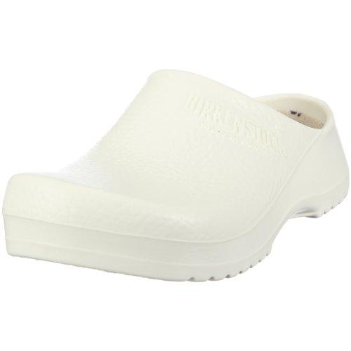 Birki SUPER BIRKI white 68021 - Zuecos para mujer Blanco