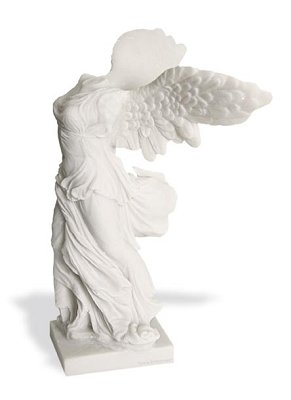Winged Nike of Samothrace Greek Statue Museum Collectible