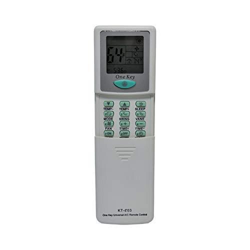 - KT-E03 Universal Remote for All Major Brands of Mini Split AC