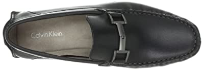 Calvin Klein Men's Dolan Pull Up Leather Slip-On Loafer