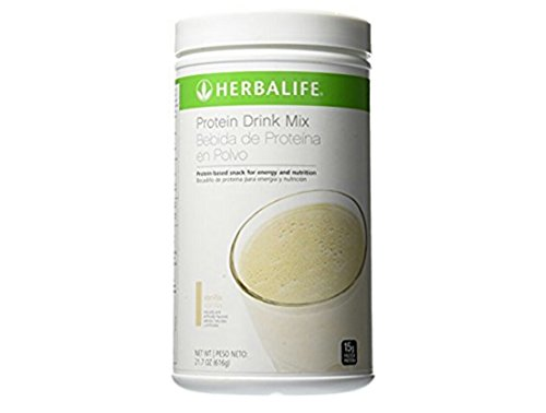 Herbalife Protein Drink Mix (Vanilla) 21.7 oz  - Herbalife Variety Pack