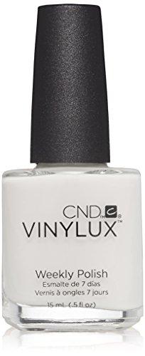 CND Vinylux Weekly Nail Polish, Cream Puff, .5 oz (Shellac Nail Polish French)