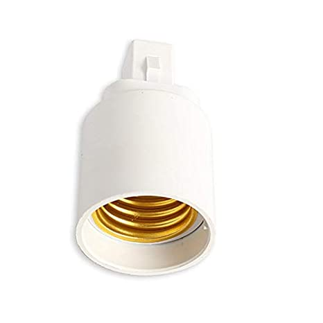 Jammas 1X G24 to E27 E26 Retardant PBT bombillas led adapter converter e27 to g24 bulb Socket Base holder adapter 2pin - - Amazon.com