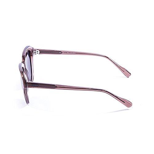 Ocean Sunglasses Mavericks Lunettes de Soleil Mixte Adulte, Ginger Transparent/Smoke Lens