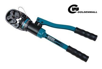 CGOLDENWALL  16~150mm²手動油圧ハイドロプライヤー ケーブル銅アルミ端子の圧着に ダイス8種付油圧圧着工具 一人で高空作業可能 【一年安心保証】 B07C3V2GF9