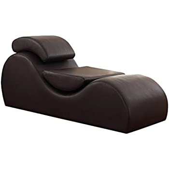US Pride Furniture Faux Leather Deluxe Stretch Chaise Relaxation and Yoga Chair with Removable Pillows  sc 1 st  Amazon.com & Amazon.com: US Pride Furniture Faux Leather Deluxe Stretch Chaise ...