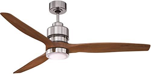 Craftmade K11256 Sonnet Ceiling Fan with Sonnet Walnut Blade