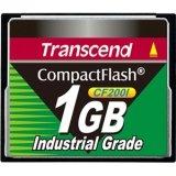 2LE2483 - Transcend TS1GCF200I 1 GB CompactFlash (CF) Card